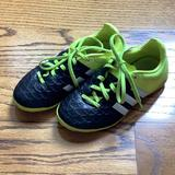 Adidas Shoes | Boys Adidas Ace 15.4 Indoor Soccer Shoe | Color: Black/Yellow | Size: 13b