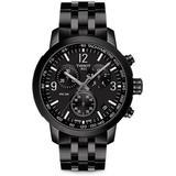 Prc 200 Chronograph - Black - Tissot Watches