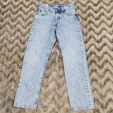 Levi's Jeans | Levis Mens 501 Button Fly Blue Jeans Size W23l26 | Color: Blue | Size: Waist 23