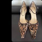 Kate Spade Shoes   Kate Spade Cow Hair Kitten Heel Shoes Heels Pumps   Color: Brown/Cream   Size: 10