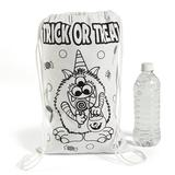 Oriental Trading Company Color Your Own Medium Trick-Or-Treat Drawstring Bags - Halloween - CYO - General - 12 Pieces | Wayfair 13607403