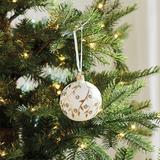 Gold Branch Glass Ornaments - Set of 6 - Ballard Designs