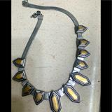 Madewell Jewelry | Madewell Collar Two-Tone Gold Silver Necklace | Color: Gold/Silver | Size: Os