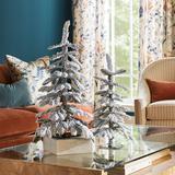 "Alpine Mini Flocked Tabletop Tree 18"" - Ballard Designs"