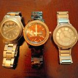 Michael Kors Accessories | A Lot Of 3 Watches. Swiss, Kors And Fossil | Color: Silver | Size: Os