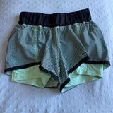 Lululemon Athletica Shorts   Lululemon Athletic Shorts Size 4   Color: Black/Green   Size: 4