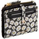 Nanette Lepore Daisy Bifold Wallet & Removeable Card Case