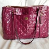Coach Bags   Coach Peyton Jordan Carryall Bag   Color: Pink/Red   Size: Os