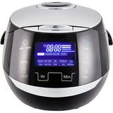 Love life Rice Cooker w/ Ceramic Bowl & Advanced Fuzzy Logic (8 Cup, 1.5 Litre) 6 Rice Cook Functions, 6 Multicook Functions, Motouch LED Display
