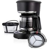 Love life 5 Cup Programmable 25 Oz. Mini, Brew Now Or Later, w/ Water Filtration & Nylon Reusable Filter, Coffee Maker in Black | Wayfair