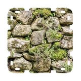 HearthSong 16-Panel Mossy Fortress Fantasy Forts Kit in Green, Size 4.25 H x 23.5 W x 23.0 D in   Wayfair 733690
