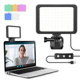 slai Video Conferencing Lighting Kit Webcam Lighting w/ Clip For Laptop/Computer Dimmable LED Camera Lights For Remote Work, Live, Zoom Lighting