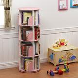 "Latitude Run® Analeyah 50.4"" H x 18.1"" W Plastic Standard Bookcase Plastic in Pink, Size 50.4 H x 18.1 W x 18.1 D in | Wayfair"