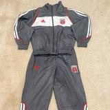 Adidas Matching Sets   Adidas Dc United Soccer Uni-Sex Set Small Size 4   Color: Black   Size: Small