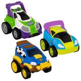 Disney Toys | Disney Toy Story Pull Back Racing Cars Pack 3 | Color: Blue/Green | Size: Osb