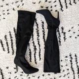 Nine West Shoes | Nine West 8m Black Knee High Nylon Pumps | Color: Black | Size: 8