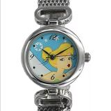 Disney Jewelry | New Disney Tinkerbell Band Hanging Charm Watch | Color: Blue/Yellow | Size: Os