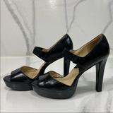 Michael Kors Shoes   Michael Kors Mary Jane Style Heels Size 8.5   Color: Black   Size: 8.5