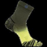 Merrell Bare Access Mid Crew Sock, Size: M/L, Yellow