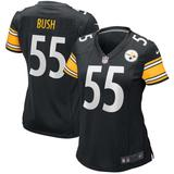 Devin Bush Black Pittsburgh Steelers Game Player Jersey - Black - Nike Tops
