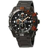 Sport Chronograph Black Dial Watch - Black - Orient Watches