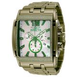 Invicta Speedway 1.47 Carat Diamond Men's Watch w/Mother of Pearl Dial - 47mm Light Green (34393)
