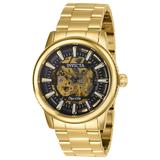 Pre-Owned Invicta Objet D Art Automatic Men's Watch - 42mm Gold (AIC-27587)
