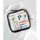 Personalized Planet Lunch Bags and Lunch Boxes N/a - White & Pink Primary Personalized Initial Storage Pouch