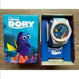 Disney Accessories | New Disney Kids Finding Dory Blue Wristwatch Watch | Color: Blue | Size: One Size