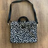 Kate Spade Bags   Kate Spade Laptop Bag With Shoulder Strap   Color: Black/Cream   Size: Os