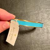 Kate Spade Jewelry | Kate Spade Turquoise And Gold Bangle Bracelet | Color: Gold/Green | Size: Os