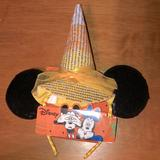 Disney Accessories | Disney Brand Candy Corn Witch Hat Ears | Color: Black/Orange | Size: Os