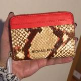 Michael Kors Accessories | Brand New Authentic Michael Kors Card Wallet | Color: Pink | Size: Card Wallet