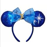Disney Accessories   Disney Peter Pan Ears Headband   Color: Blue/White   Size: Os