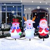 The Holiday Aisle® Christmas Decorations Pathway Light Outdoor in Red, Size 20.0 H x 6.0 W x 5.0 D in   Wayfair A3A32674437A4DFE8C98A32FBE3A7035