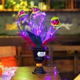 The Holiday Aisle® Halloween Table Decoration, Artificial Corpse Flower For Halloween Decor, Halloween Crafts Flowers For Dining Table   Wayfair