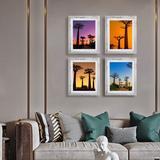 "Latitude Run® 4 Piece 4"" x 6"" Gallery Wall Set in White, Size 6.5 H x 4.5 W x 0.5 D in | Wayfair FF4FDC42AB96467B9FACE5F475E5A489"