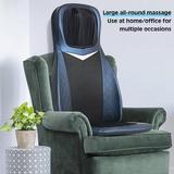Inbox Zero Shiatsu Foot Massager Machine w/ Heat Electric Deep Kneading Massage Spa Gift, Size 24.0 H x 32.0 W x 24.0 D in   Wayfair