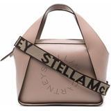 Mini Stella Logo Crossbody Bag - Brown - Stella McCartney Shoulder Bags