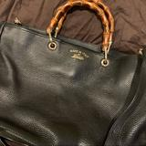 Gucci Bags | Large Gucci Bamboo Shopper Tote Black | Color: Black | Size: Os
