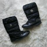 Coach Shoes | Coach Drexel Quilted Winter Boots Size 5.5 | Color: Black | Size: 5.5