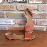 Madewell Shoes   Madewell Brown Leather Abbi Sling Back Sandals 9   Color: Brown/Orange   Size: 9