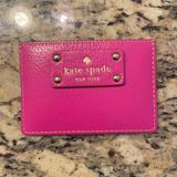 Kate Spade Bags   Kate Spade Slim Card Holder Wallet   Color: Pink   Size: Os
