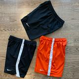 Nike Bottoms | Nike Girls Dri-Fit Soccer Shorts In Youth Large | Color: Black/Orange | Size: Lg