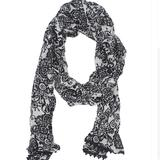 Disney Accessories | Disney Parks Mickey Mouse Scarf | Color: Black/White | Size: Os
