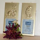 Disney Accents | Disney Winnie The Pooh Eeyore Picture Frames New | Color: Gold | Size: Frame 6.5 X 3 Opening 2.25 X 3