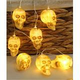 LightGo Women's Indoor Strings brown - Warm Brown New Skull 118'' String Lights