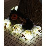 LightGo Women's Indoor Strings brown - Brown New Skull 118'' String Lights
