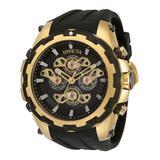 Invicta Men's Watches - Black & Goldtone Specialty Quartz Multifunction Watch