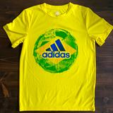 Adidas Shirts & Tops   Adidas Youth Small (8) Soccer Tee   Color: Yellow   Size: Sb